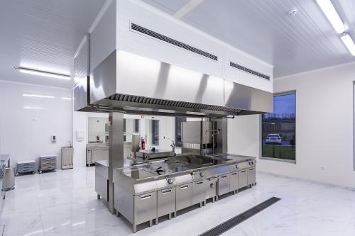 Cozinha de desenvolvimento